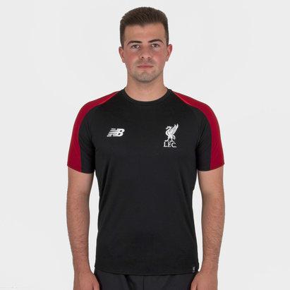 Liverpool FC 18/19 Elite S/S Football Training Shirt - No Sponsor