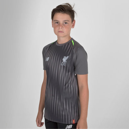 Liverpool FC 18/19 Elite Kids Matchday Football Training Shirt