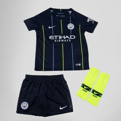 Manchester City 18/19 Away Mini Kids Football Kit