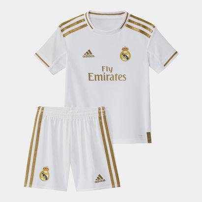 Real Madrid 19/20 Kids Home Replica Football Kit