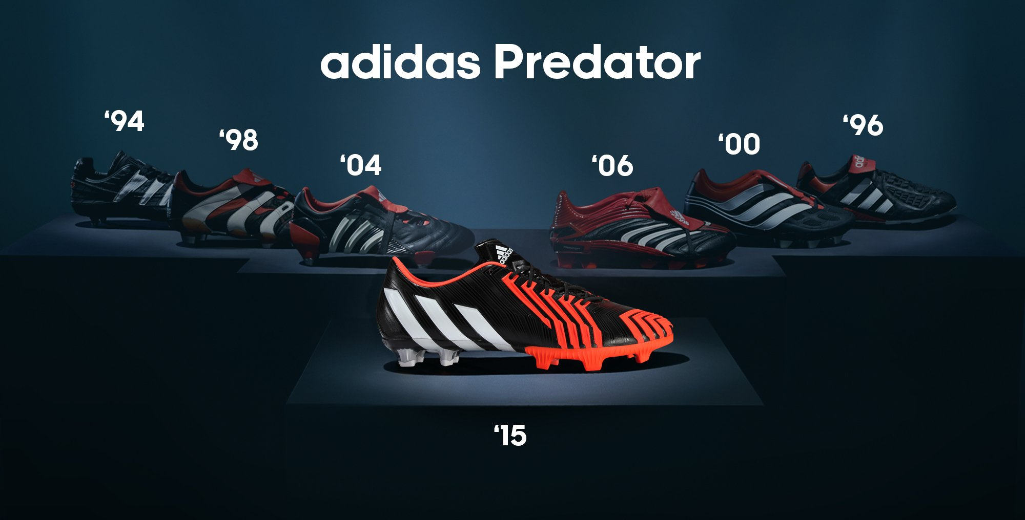 revendeur d5741 eeea7 adidas Predators | History Of The adidas Predator | Lovell ...