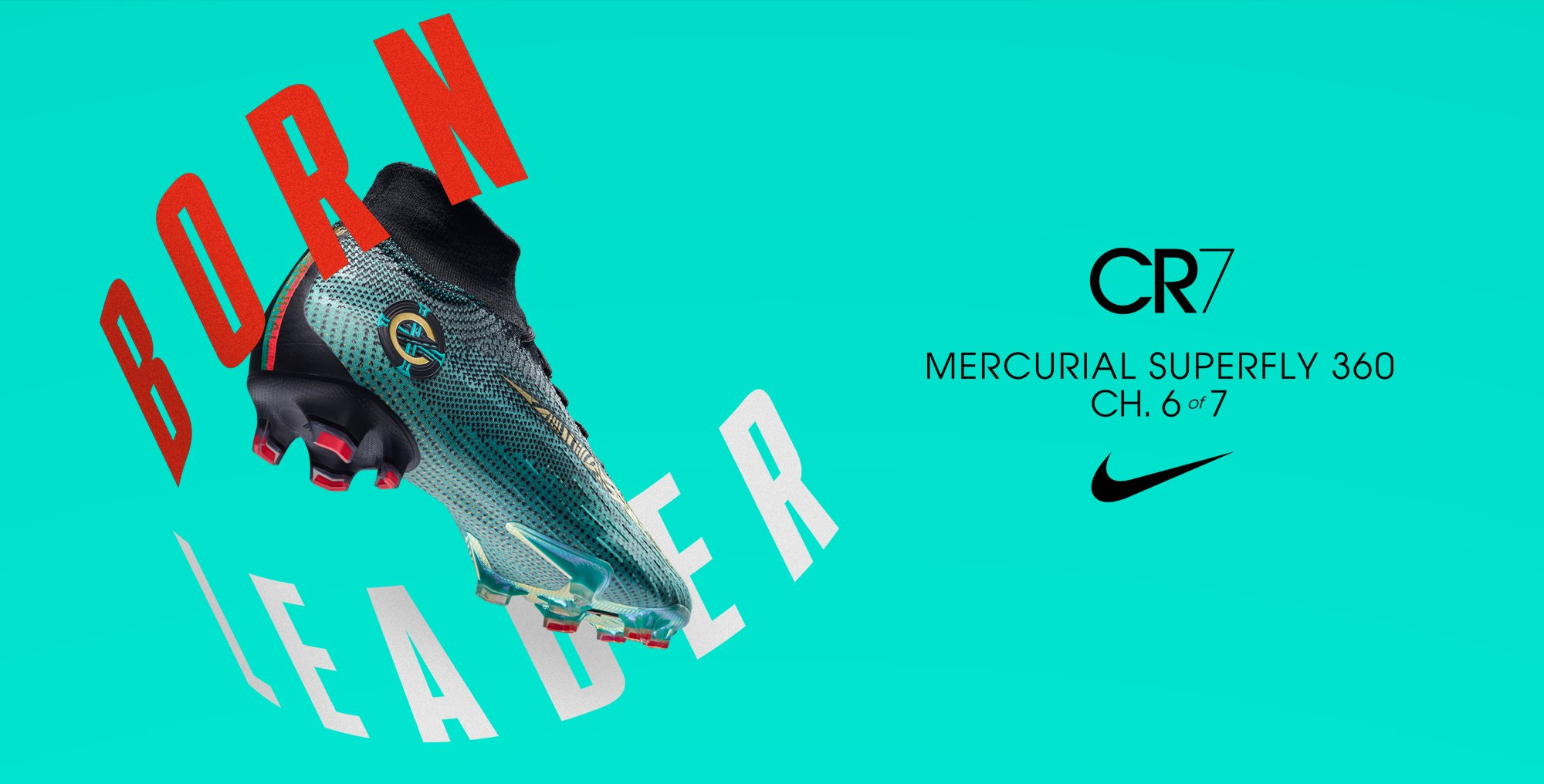 5776ab375fe Nike Mercurial 360 CR7 Chapter 6 Born Leader