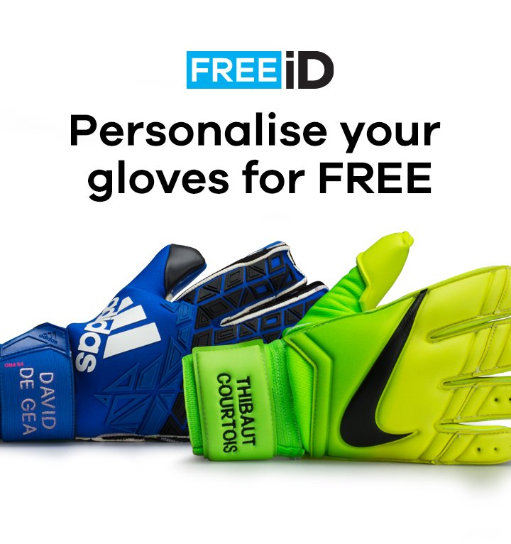 separation shoes 2897a b29a6 FREE iD - FREE Glove Personalisation