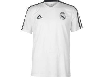 adidas Real Madrid CF Training Jersey Mens