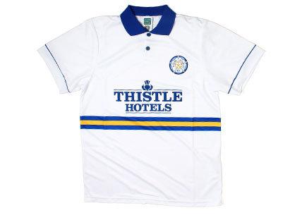 Score Draw Leeds United 1994 Home Retro Football Shirt