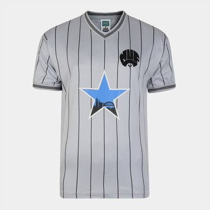 Score Draw Newcastle United 1984 Away Retro Football Shirt