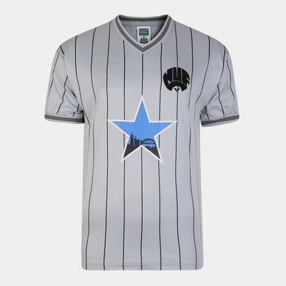 Score Draw Newcastle United 1984 Away Retro Football Shirt