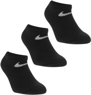 Nike 3 Pack No Show Socks Childrens