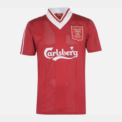 Team Liverpool 1995 1996 Home Shirt Mens