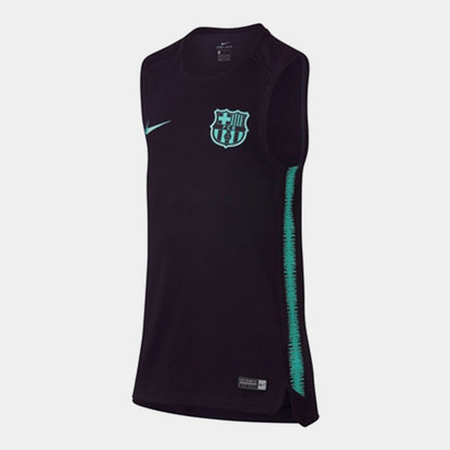 Nike FC Barcelona Sleeveless T-Shirt Junior Boys