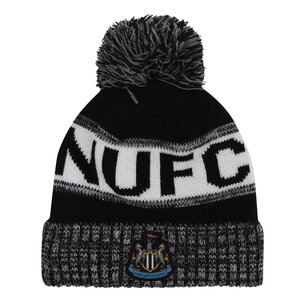 NUFC Newcastle United Home Crest Bobble Hat