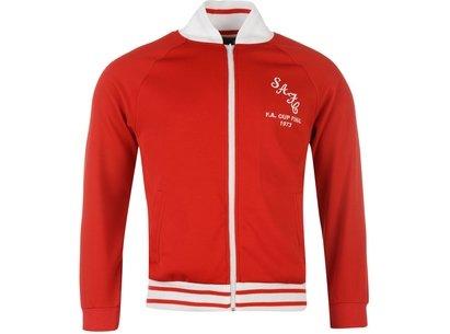 Score Draw Retro Sunderland AFC 1973 Track Top Mens