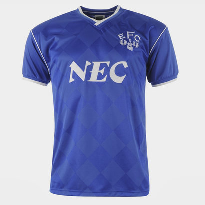 Score Draw Everton Football Club 1987 Home Jersey Mens