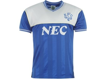 Score Draw Draw Everton 1986 Home Shirt Mens