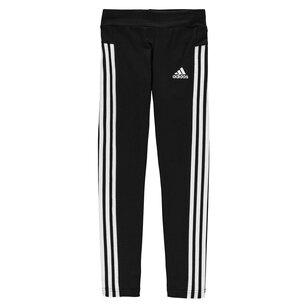 adidas 3 Stripe Tights Junior Girls