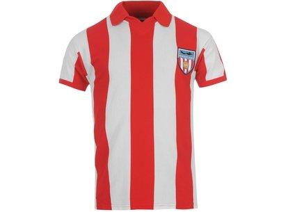 Score Draw Retro Sunderland AFC 1978 Home Shirt Mens