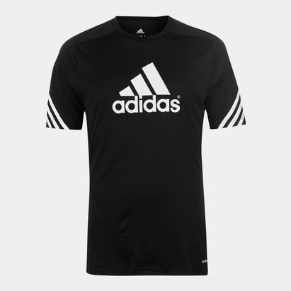 adidas Mens Sereno Graphic T Shirt