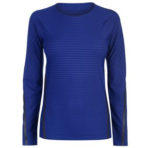 adidas TechFit Long Sleeve T Shirt Ladies