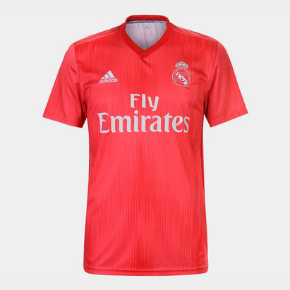 adidas Real Madrid 18/19 3rd S/S Football Shirt