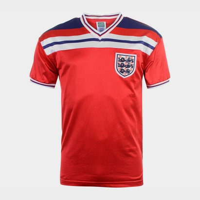Score Draw England 1982 Away Shirt Mens