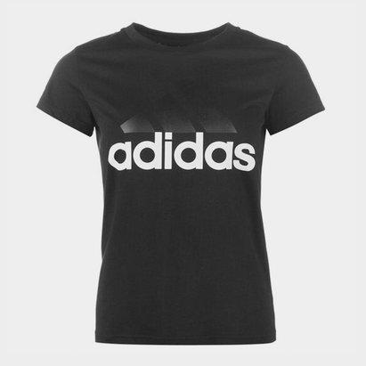 adidas Linear QT T-Shirt Ladies