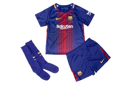 Nike FC Barcelona 17/18 Little Kids Home Football Kit