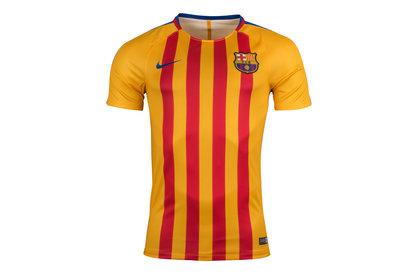 Nike FC Barcelona 17/18 Dry Squad GX Football Training Shirt