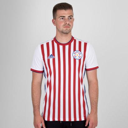 adidas Paraguay 2018 Home S/S Replica Football Shirt