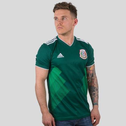 adidas Mexico 2018 Home S/S Football Shirt
