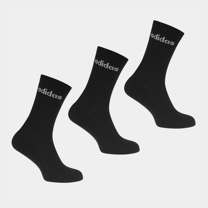 adidas Crew Three Pack Socks Womens