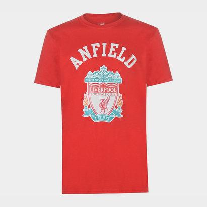 LFC Crest T-Shirt Mens