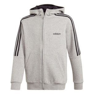 adidas 3S Logo Full Zip Hoodie Junior Boys