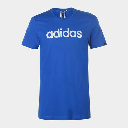 adidas Mens Essentials Linear T Shirt