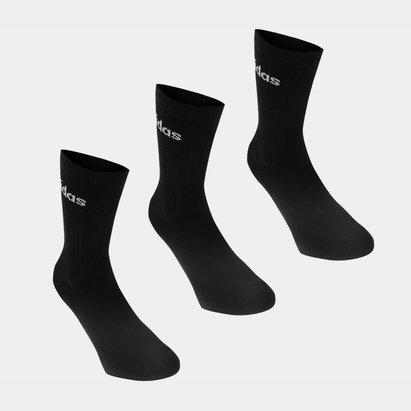 adidas Crew Three Pack Socks Mens