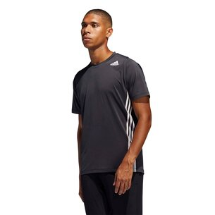 adidas Mens Freelift Fleece 3 Stripes T Shirt