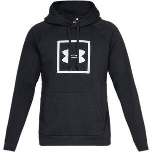 Under Armour Box Logo Hoodie Mens