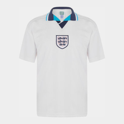 Score Draw England 96 Home Jersey Mens