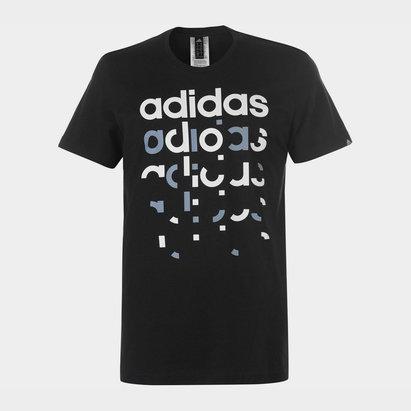 adidas Fragment Linear T Shirt Mens
