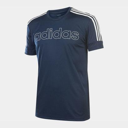adidas Mens Sereno Graphic T Shirt