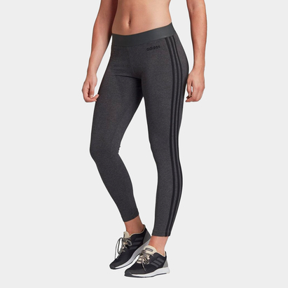 adidas Essentials 3 Stripe Leggings Ladies