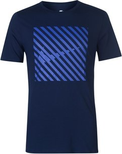 Nike Striped QT T Shirt Mens