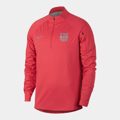 Nike Shield FC Barcelona Squad Drill Top Mens