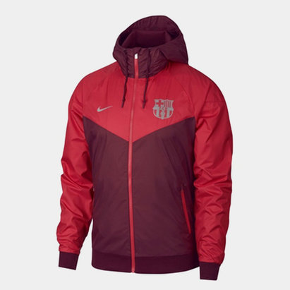 5d92b50e3 Nike FC Barcelona Windrunner Woven Jacket Mens