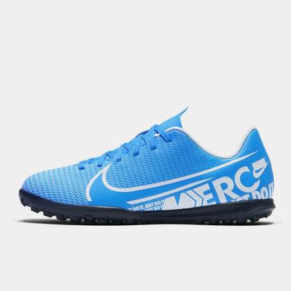 Nike Jr. Mercurial Vapor 13 Club TF Little Big Kids Artificial Turf Soccer Shoe