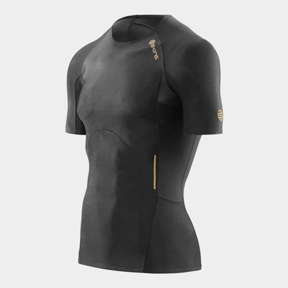 SKINS A400 Mens Compression S/S Top