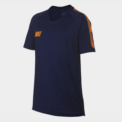 Nike Breathe Strike Big Kids Short Sleeve Soccer Top