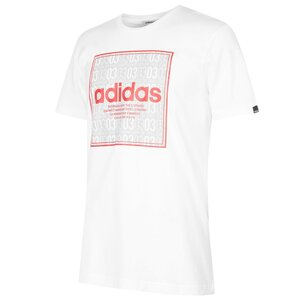 adidas Box Linear Mens T shirt
