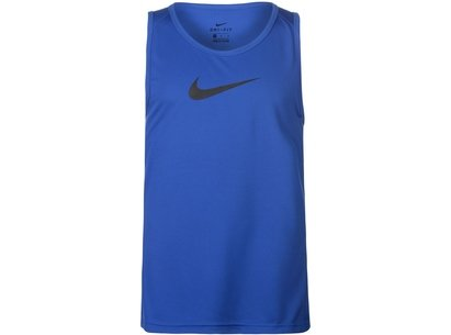 Nike Cross Over Tank Top Mens Royal