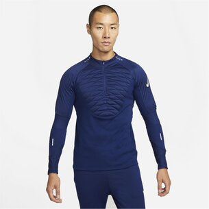 Nike Therma Fit Strike Winter Warrior Drill Top Mens