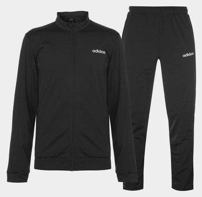 adidas Basics Polyester Tracksuit Mens